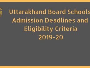 Uttarakhand Board Schools Admission